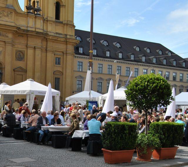 Bayerisches Genussfestival Odeonsplatz