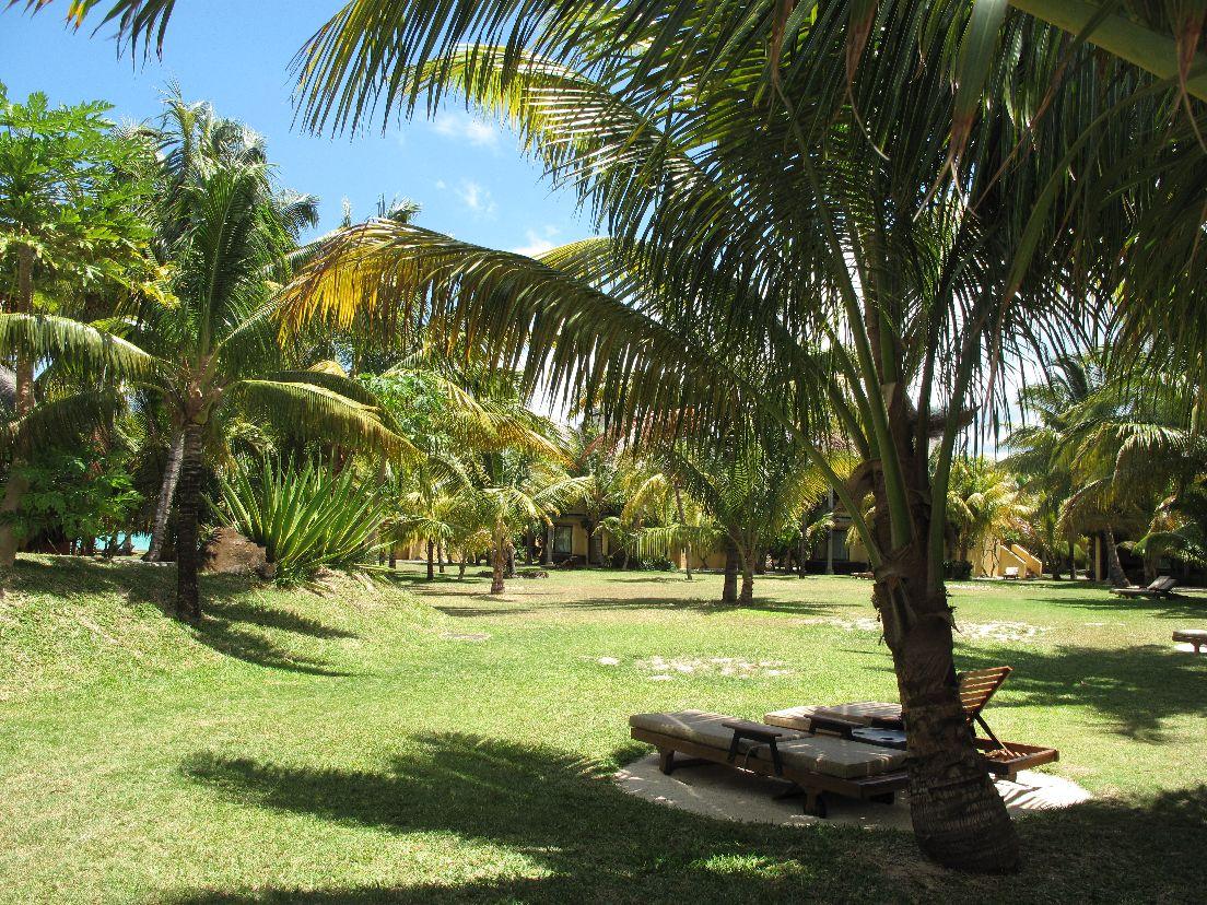 Beachcomber Dinarobin Hotel Mauritius GARTEN  © Kagelmann