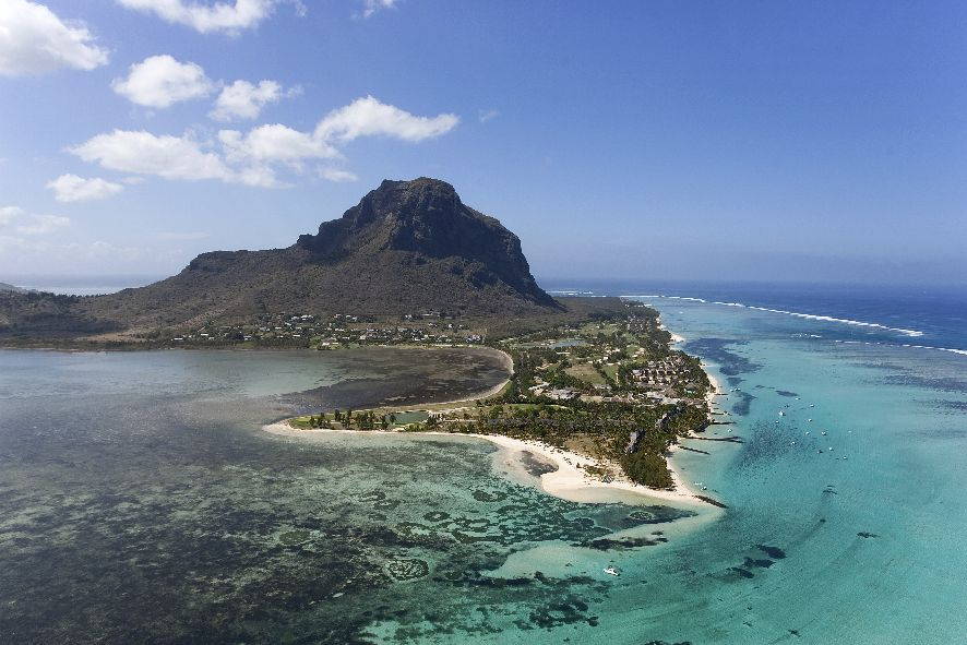 Beachcomber Dinarobin Hotel Mauritius MAURITIUS airview © Fremdenverkehrsamt Mauritius, MTPA/Bamba Sourang