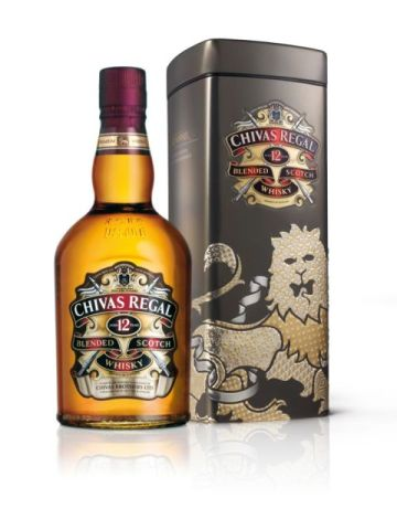 CHIVAS Geschenkbox Dan Funderburgh