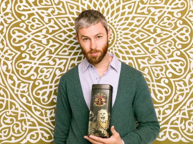 CHIVAS Geschenkbox Portrait Dan Funderburgh
