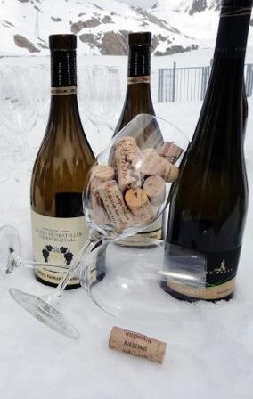 Marc Girardelli Das Central Soelden Wein am Berg Johanna Stoeckl Hoehenweindegustation