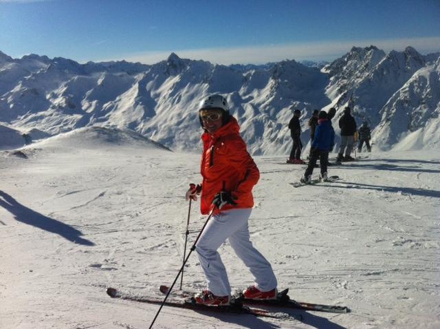 Golf Gourmet Genuss Tirol Elsa Honecker Ischgl Skifahren Ischgl