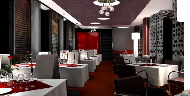 So könnte es aussehen / Entwurf des Architekten - Hotel Vier Jahreszeiten Starnberg Illu Nacht