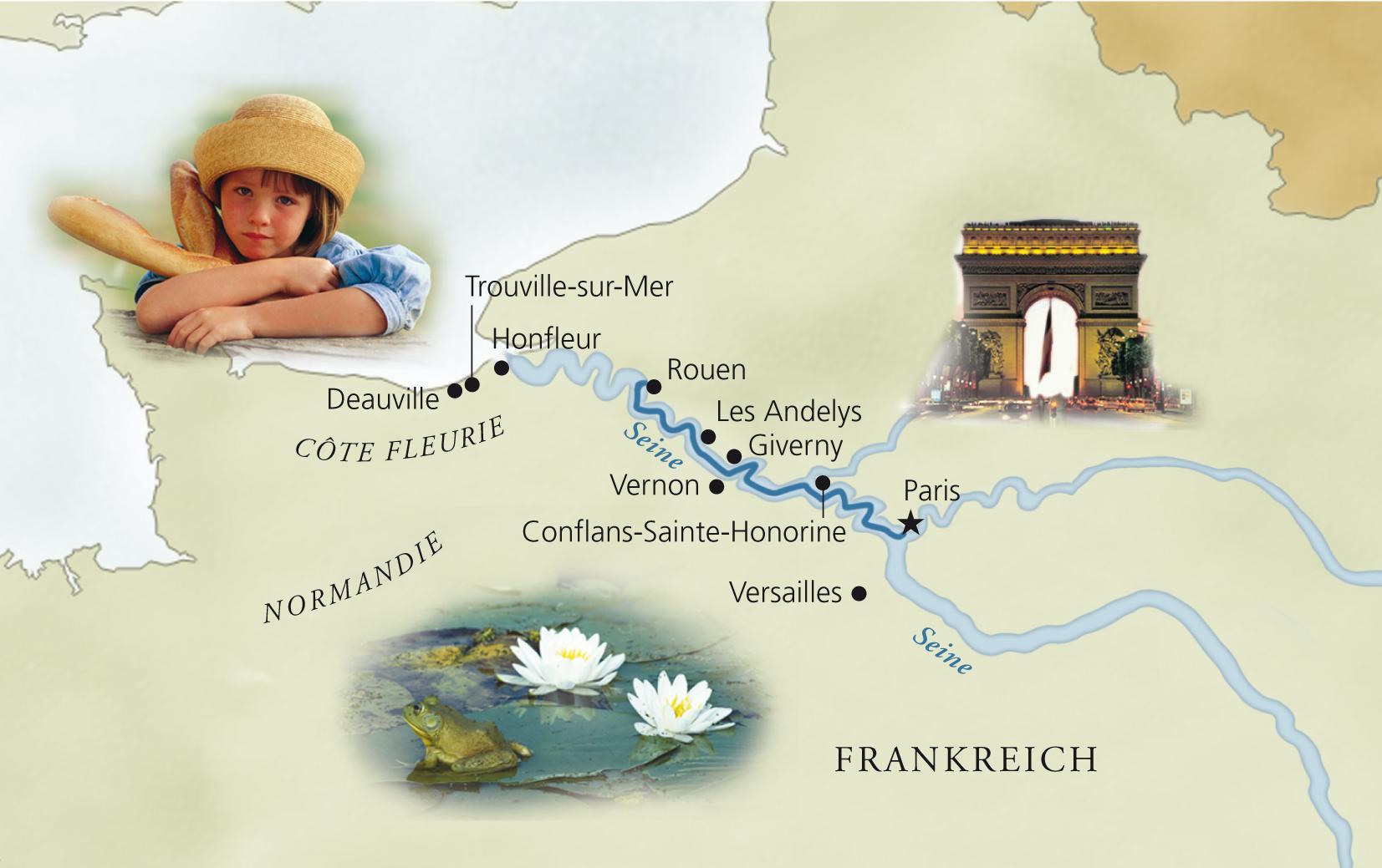 Juergen Kagelmann Viking Radkreuzfahrt Normandie
