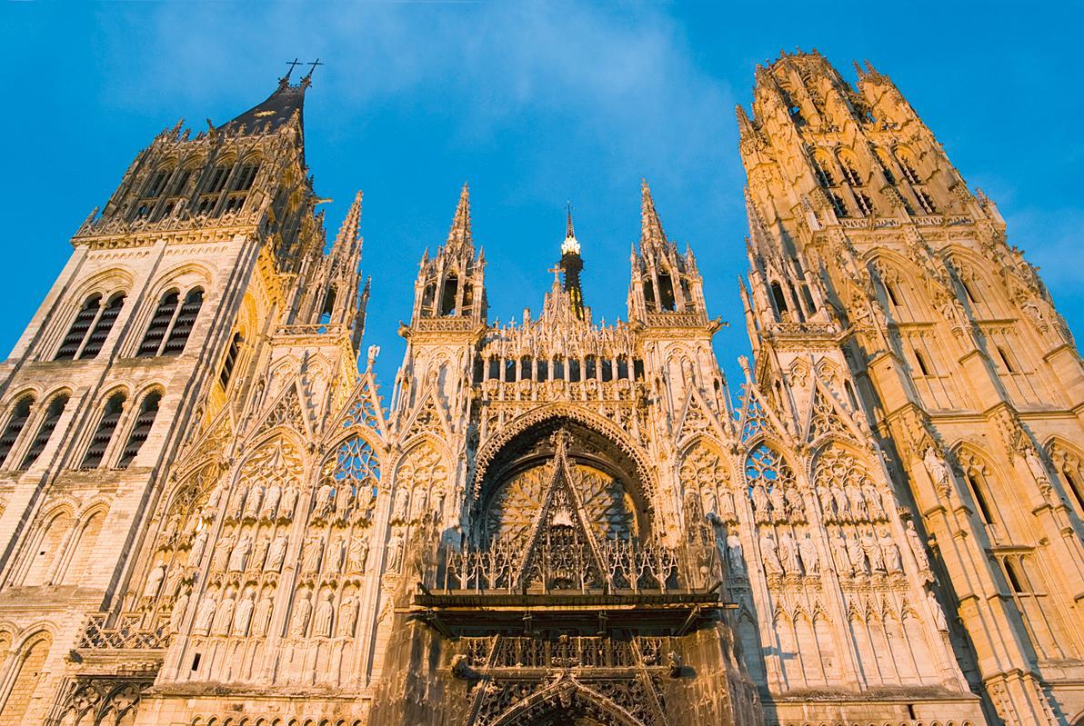 Juergen Kagelmann Viking Radkreuzfahrt Normandie Rouen, Kathedrale © Viking