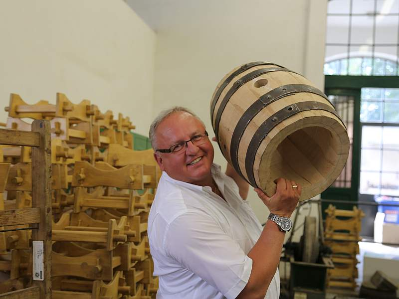 Pilsner Urquell Brauerei Werkstatt Meister Andreas Burkert