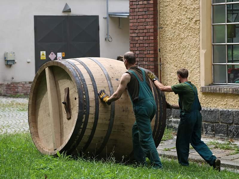 Pilsner Urquell Brauereifass Andreas Burkert