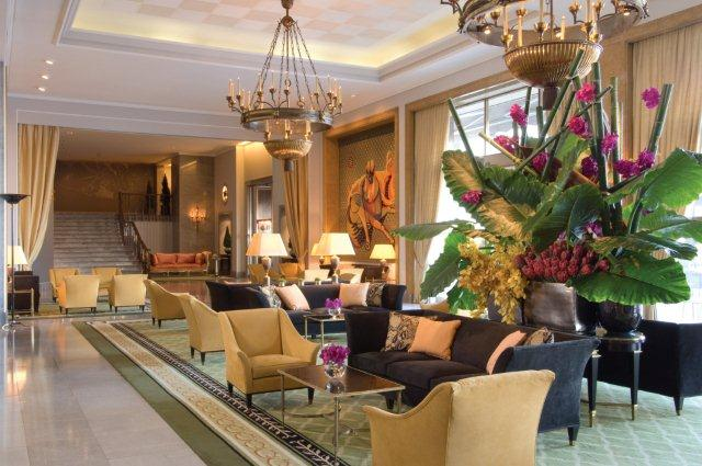The Ritz Hotel Lisbon Portugal Lobby