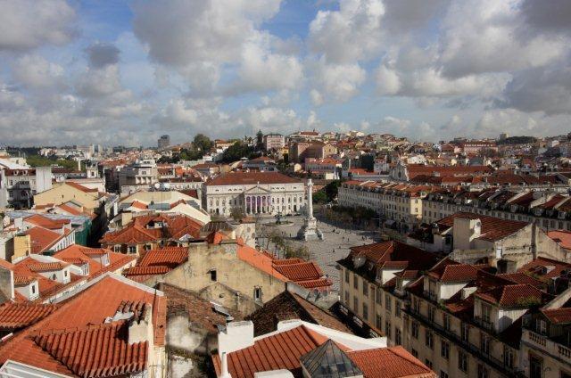 The Ritz Hotel Lisbon Portugal Blick von oben