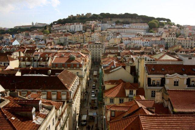 The Ritz Hotel Lisbon Portugal Blick auf die Altstadt