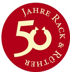 Rack & Ruether 50jaehriges Logo