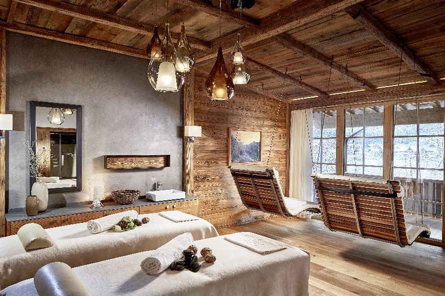 Relais Chateaux Hotel Jagdhof Neustift Stubaital Spa CHALET private spa 30
