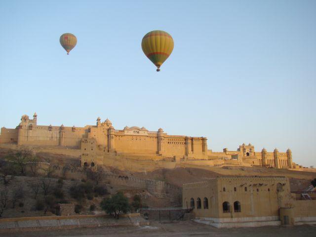 Tischler Reisen Indien Ballonfahren 5INJAIH17 Skywaltz1