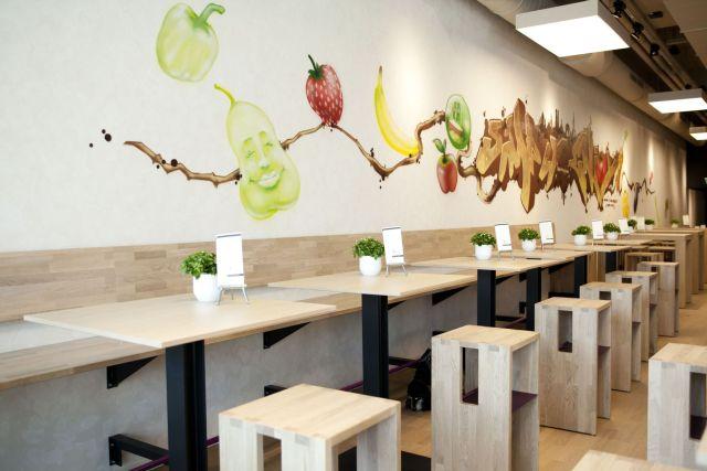 Viqoy Blick ins Restaurant