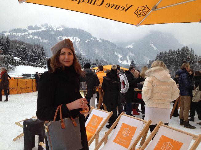 Veuve Clicquot in the snow Joerg Hohenfeld Jan2013 03 Andrea Gerum