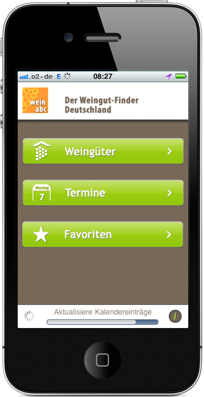 Wein ABC iPhone App