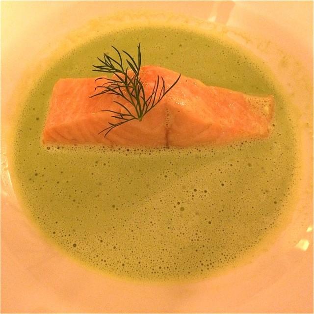 Via Culinaria 12. Lachs auf Brunnenkresse