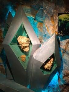 Via Culinaria Exponat Bergkristall