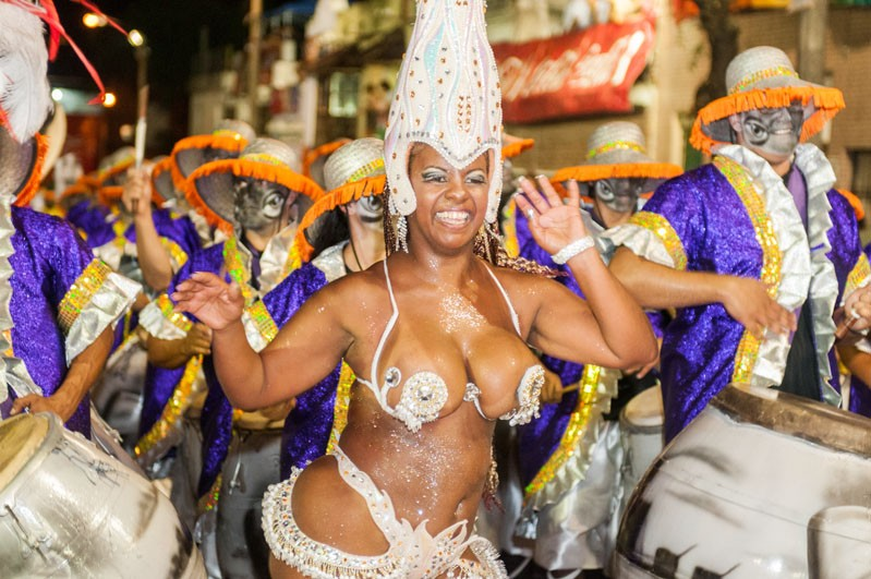 Uruguay Karneval in Montevideo Kagelmann © Leonardo Correa