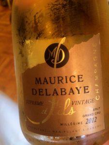 Winzer Champagner - Maurice Delabaye