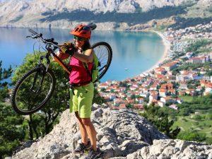Kroatien Krk Biken Hlamberg Mondweg 10