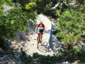Kroatien Krk Biken Hlamberg Mondweg 11