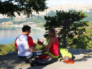Kroatien Krk Biken Hlamberg Mondweg 3