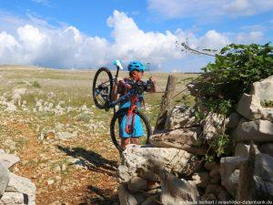 Kroatien Krk Biken Hlamberg Mondweg 5