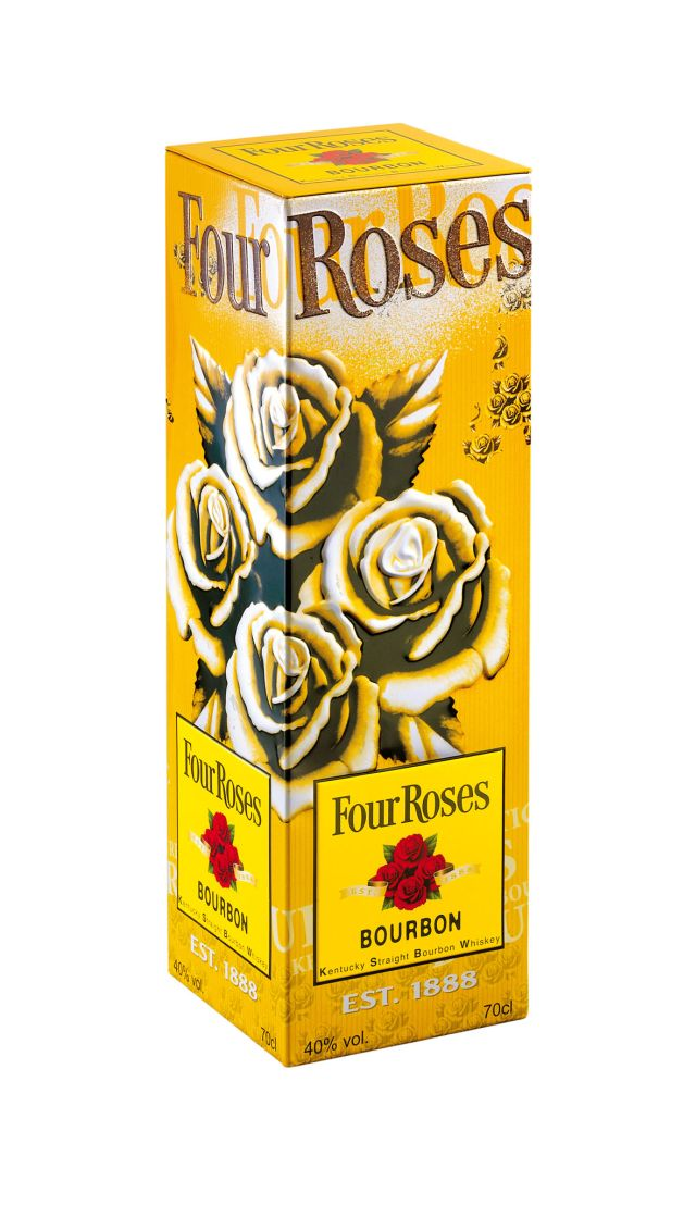 Four Roses Tin Box