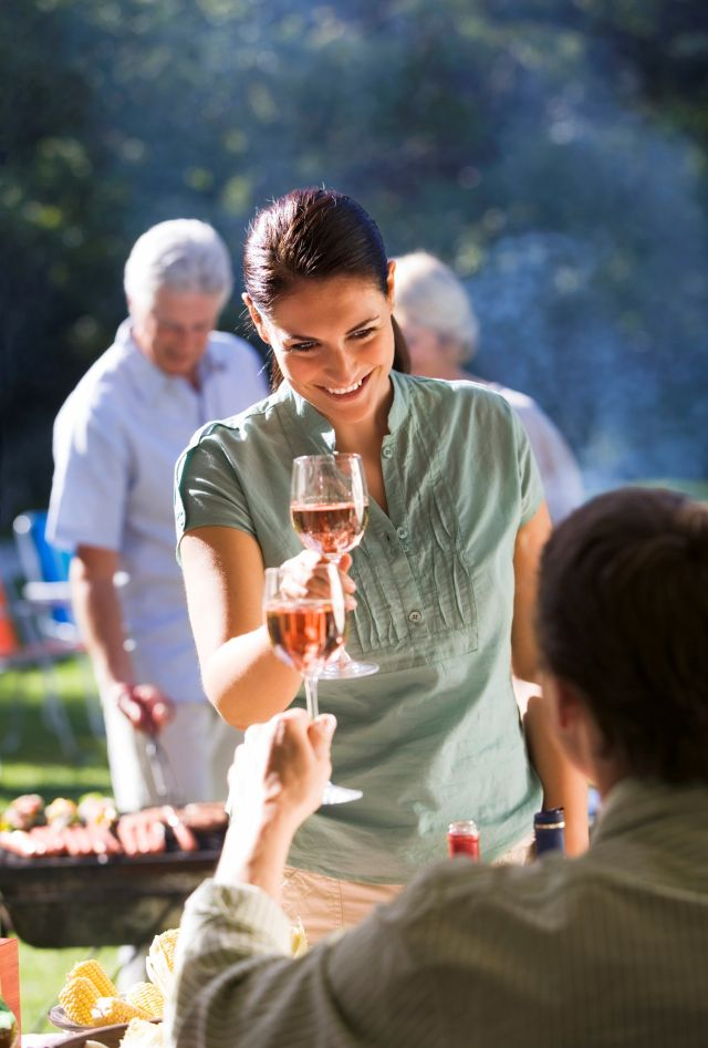 FranceAgriMer/Getty Images Wein zum Grillen
