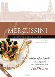 Mercussini Restaurant Guide 2007