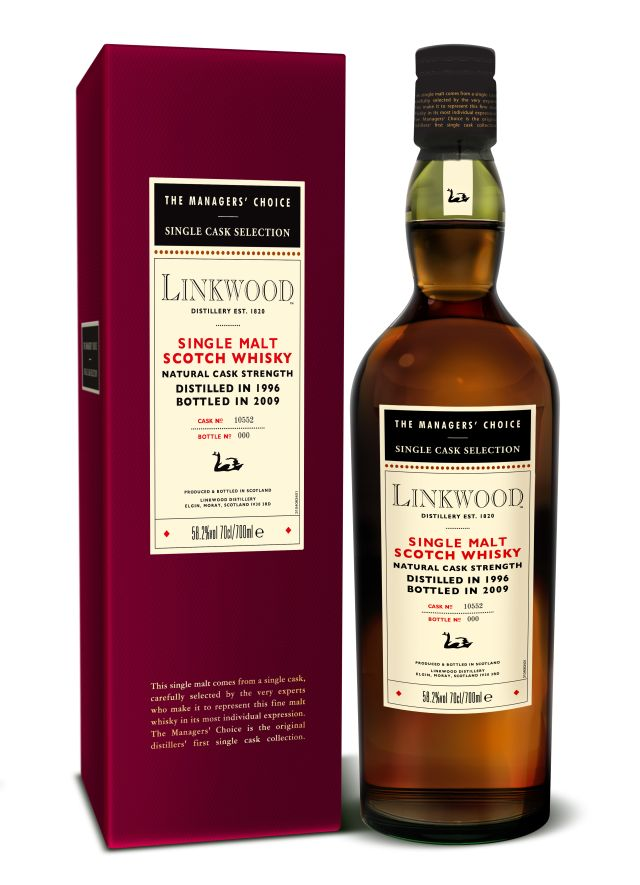 The Managers' Choice diageo classic malts selection Linkwood