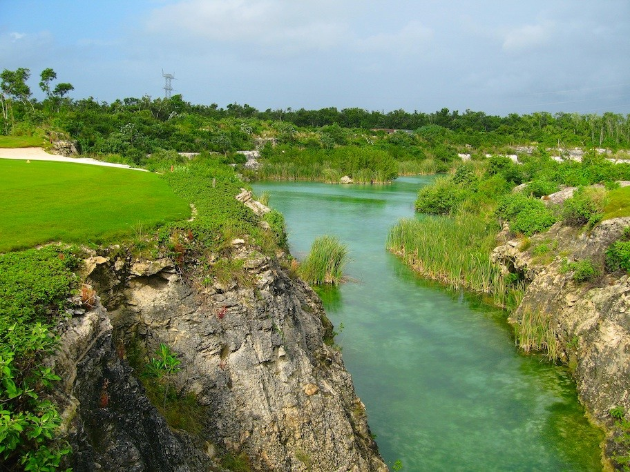 Mexiko Riviera Maya Elsa Honecker 04_Golfplatz_oekologisches_Vorbild