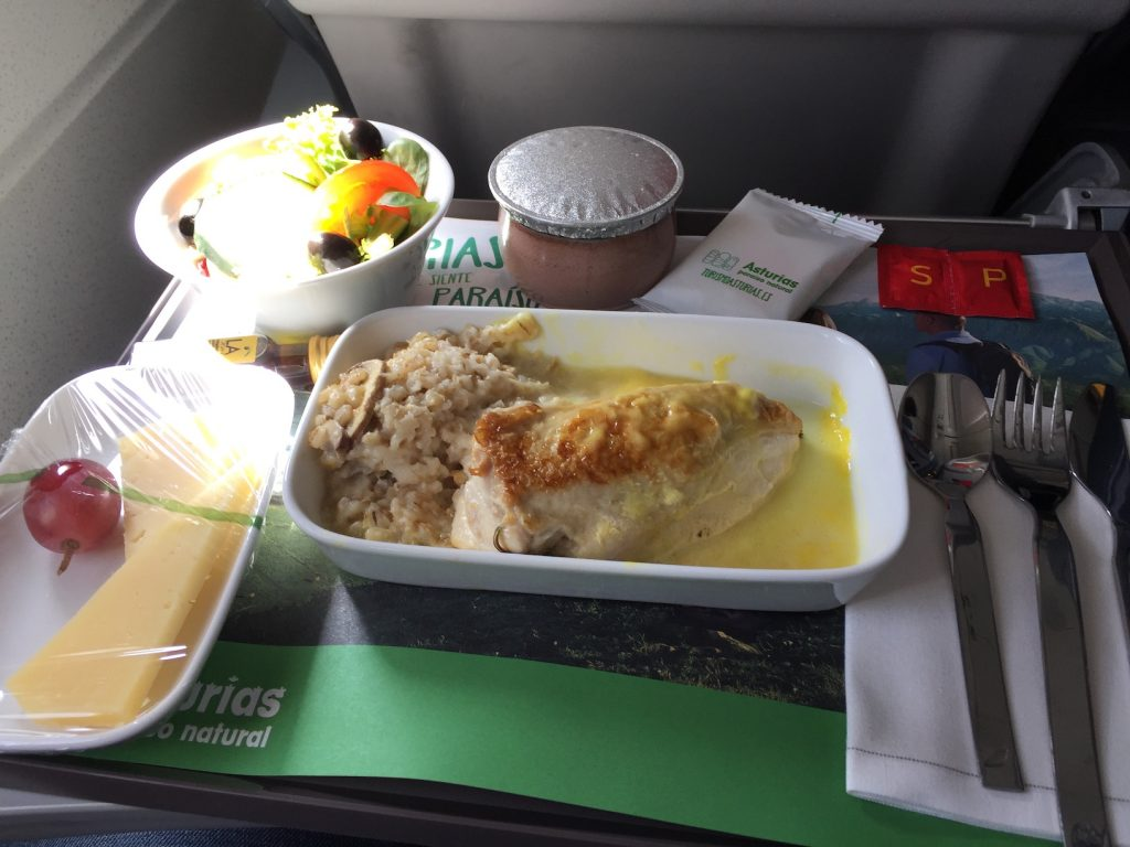 Iberia Business Class Madrid