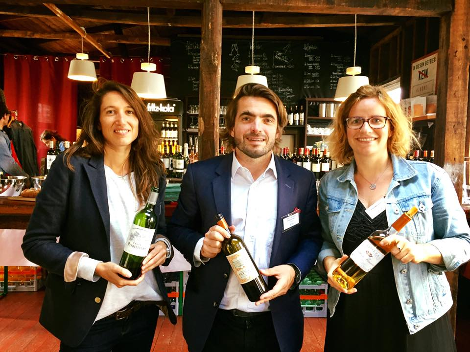 Bordeaux CVIB Wine Makers Audrey Lauret Elsa_Menard Jean Jacques Dubourdieu