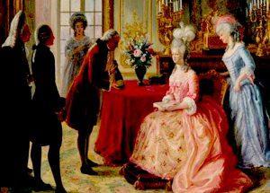 Marie Antoinette die erste Botschaferin von Piper-Heidsieck