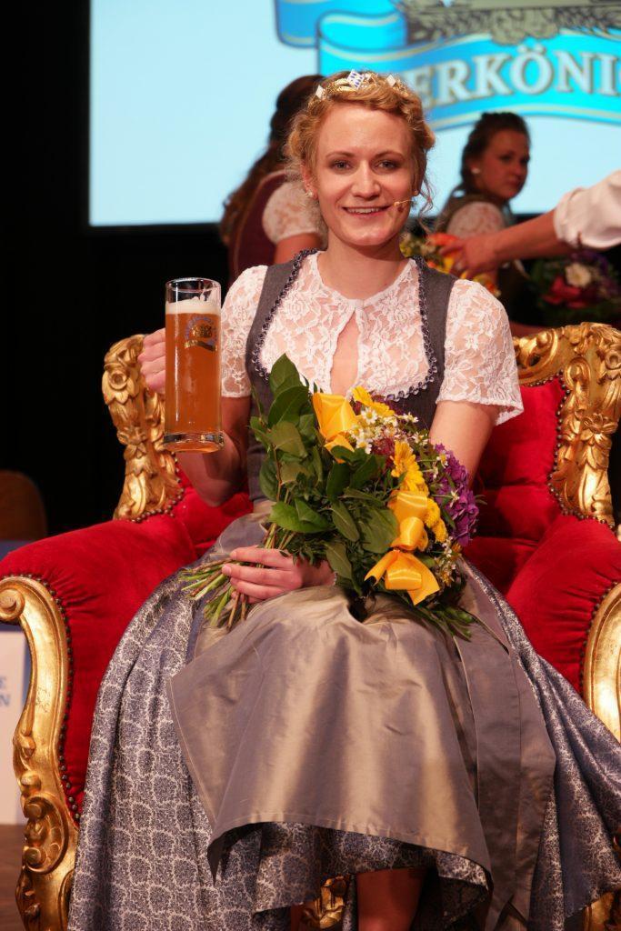 Bayerische Bierkönigin Johanna Seiler