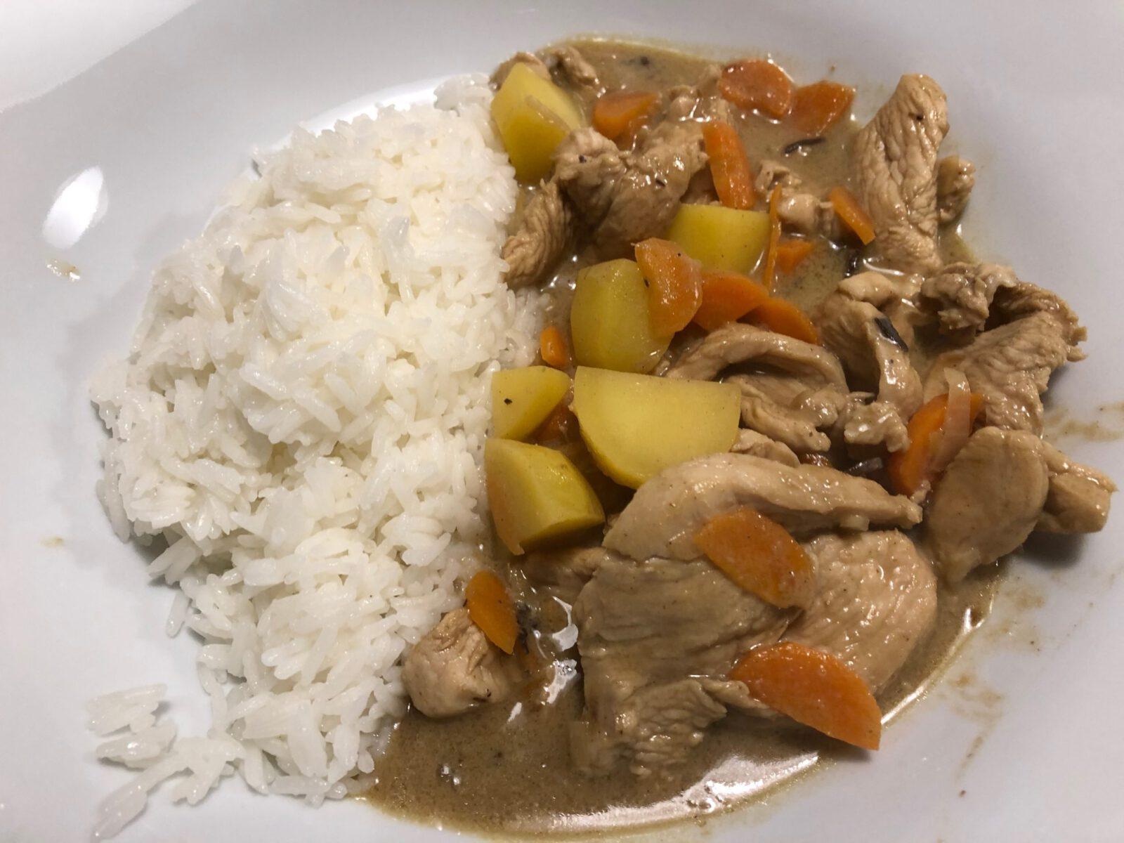 Gulai Ayam Malay Chicken Curry